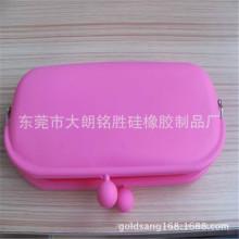 Hot Sell Colorful Silicone Purse/Silicone Glasses Box/Silicone Bag Case