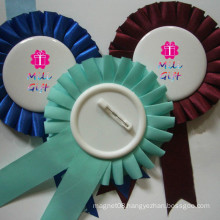Various Colors Factory Directly Sale Ribbon Brooch