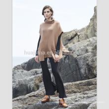 кашемировый свитер для женщин мода жилет