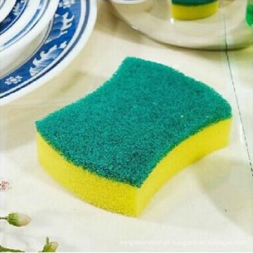Esponja de limpeza de pratos