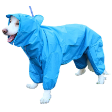 10 Size Waterproof 4 Legs Pets Raincoat