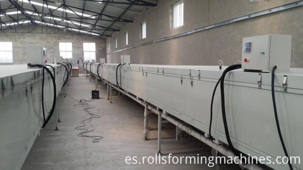 drying section for Stone Coated Metal Roof Tile Machine