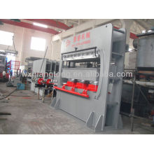 Wood moulding press machine for door frame/profile