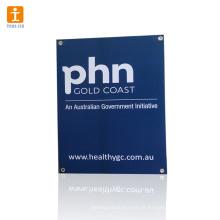 Cartão de PVC colorido em forma para promoção
