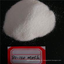 Areia de quartzo de produtos de vidro branco / preço de sílica de quartzo