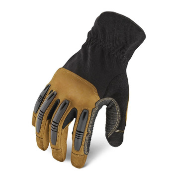Hot Sale for Offer Protective Gloves,Work Gloves,Safety Gloves,Leather Work Gloves From China Manufacturer Ultra synthetic leather gel palm working protective gloves supply to Spain Supplier
