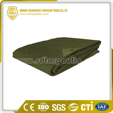 Reinforced Canvas Tarp for Truck Cover