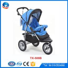 Baby-Spaziergänger-Hersteller Großhandel billig Baby Kinderwagen, Multifunktions-Kinderwagen mit großen Rädern