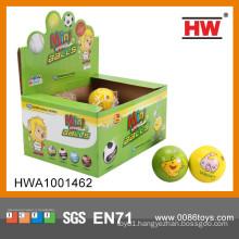"Funny Digital Stress Ball 2.5"" PU Sport Ball Toy"