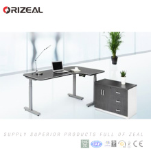 Multi-function height adjustable office table wireless remote control