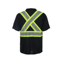 high performance materials safety T-shirts,CSA Z96-09 norm reflective T-shirts