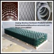 China factory sale low price hot galvanized razor wire fence