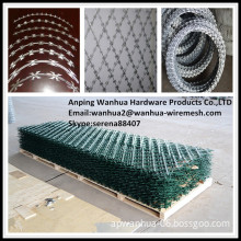 China factory sale low price hot galvanized razor wire fence