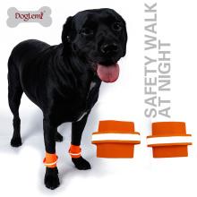 Precio de fábrica 2 unids por conjunto Reflectante pulsera de perro de seguridad Mascota Wristband