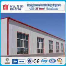 Steel Structure Warehouse Workshop by Sandwich Panel Wall Roof