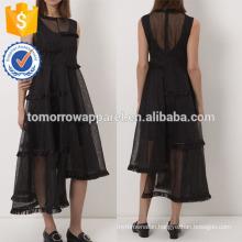 New Fashion Black Sleeveless Midi Dress Manufacture Wholesale Fashion Women Apparel (TA5232D)