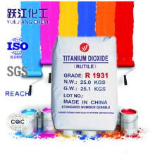 Dióxido de titânio de alta qualidade