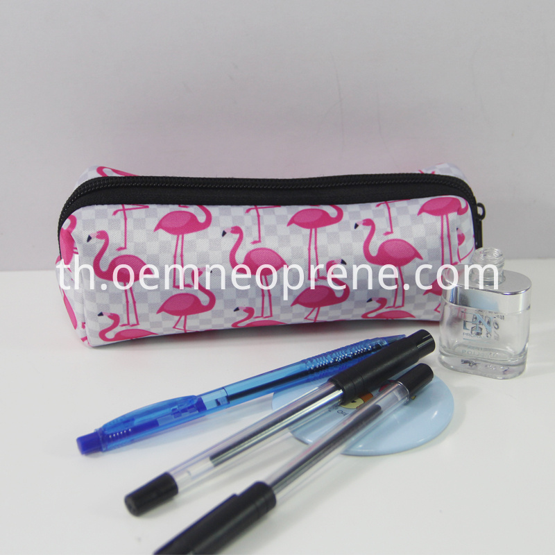 Flamingo pencil pouches