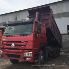 Caminhão basculante usado 6 * 4 caminhão pesado