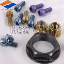 Ti6AI4V titanium bolts and nuts