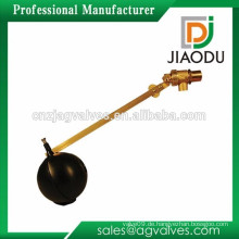 Qualitäts-Großhandelspreis-chinesisches rotes oder schwarzes Messing-Wasser-Behälter-Wasser-Niveau-Schwimmer-sich hin- und herbewegendes mechanisches Kugel-Ventil