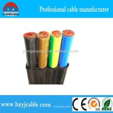 Flat Elevador Cable Cobre Flexible Piso Ascensor Cable PVC Funda 12core 24core 36core para Viajes Grúa Ningbo Zona Piso EL