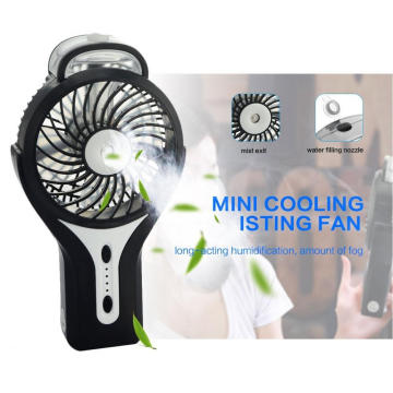Rechargeable Battery Portable Mini Usb Handheld Misting Fan