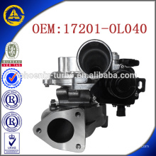 Compresseur CT16V 17201-OL040 pour Toyota KZN130