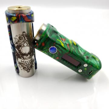 Fresh new DNA75 chipset resin vape mod