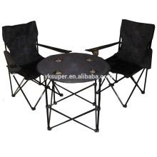 2015 Mesa dobrável popular com cadeiras para acampamento ao ar livre