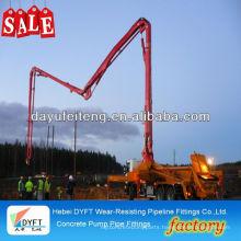 concrete conveying boom Sany construction equipment SJ series manual concrete placing boom machinery