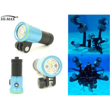 YS/ball mount led underwater diving video light