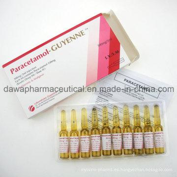 Inyección de paracetamol con inyección de alta dosis de 300 mg / 2 ml