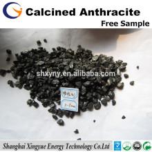 XY-112 Carvão de antracite eletricamente calcinado de baixo teor de enxofre 0,2%