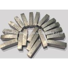 Forma diferente de segmentos de diamante para hojas de sierra y herramientas abrasivas