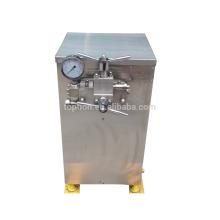 2016 Homogénisateur à haute pression du lait 200L / H, machine d'homogénéisation de lait