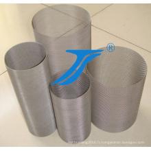 Rouleaux de treillis en acier inoxydable Ts-304 ou 316L