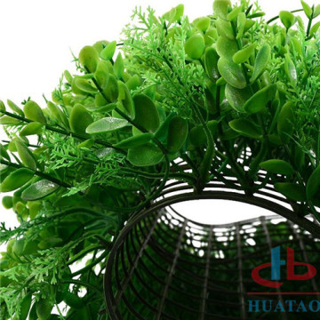 Heminredning Outdoor Anti-UV Artificial Green Wall