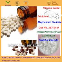 Stéarate de magnésium, Pharmaceutical Excipient, Tablet & Capsule lubrifiant pharmaceutique
