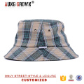 promotion bucket hats/checked pattern bucket hat and cap