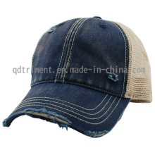 Grinding Dirty Washed Sport Baseball Mesh Trucker Cap (TM0853)