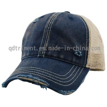 Grinding Dirty Laved Sport Baseball Mesh Trucker Cap (TM0853)