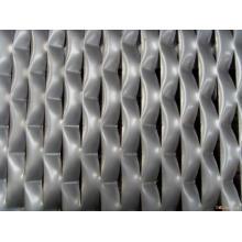 Malla de alambre expandido de hierro galvanizado en hoja