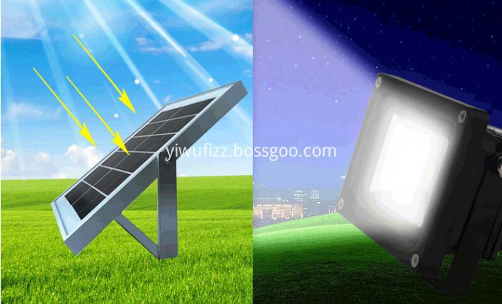 Human-induced outdoor lighting