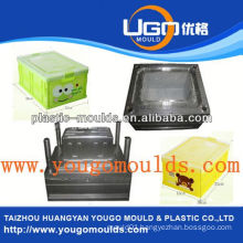 2013 New household plastic fruit containers moulds and good price injection tool box mould
