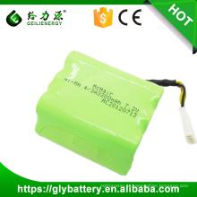 NI-MH 4 / 3A Tipo 7.2 V 3200 mAh China Fábrica Novo Design Robot Vacuum Cleaner Bateria