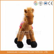Stuffed Happy Horse Large Toy Horse Plush Toy Horse for Girls