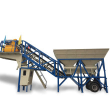 Mini Mobile Automatic Concrete Batch Mix Machine