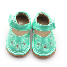 PU Material Lovely Musical Kids Shoes Wholesale