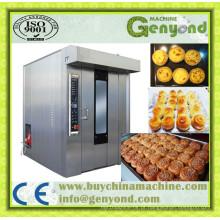 Forno industrial elétrico do cozimento do pão de 64 bandejas